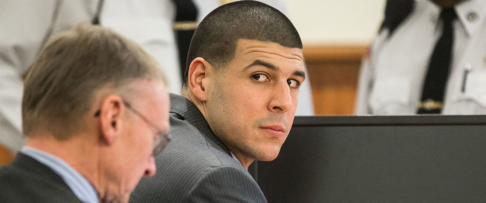 PHOTO: Former New England Patriots player Aaron Hernandez