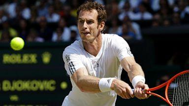 PHOTO: Andy Murray at Wimbledon