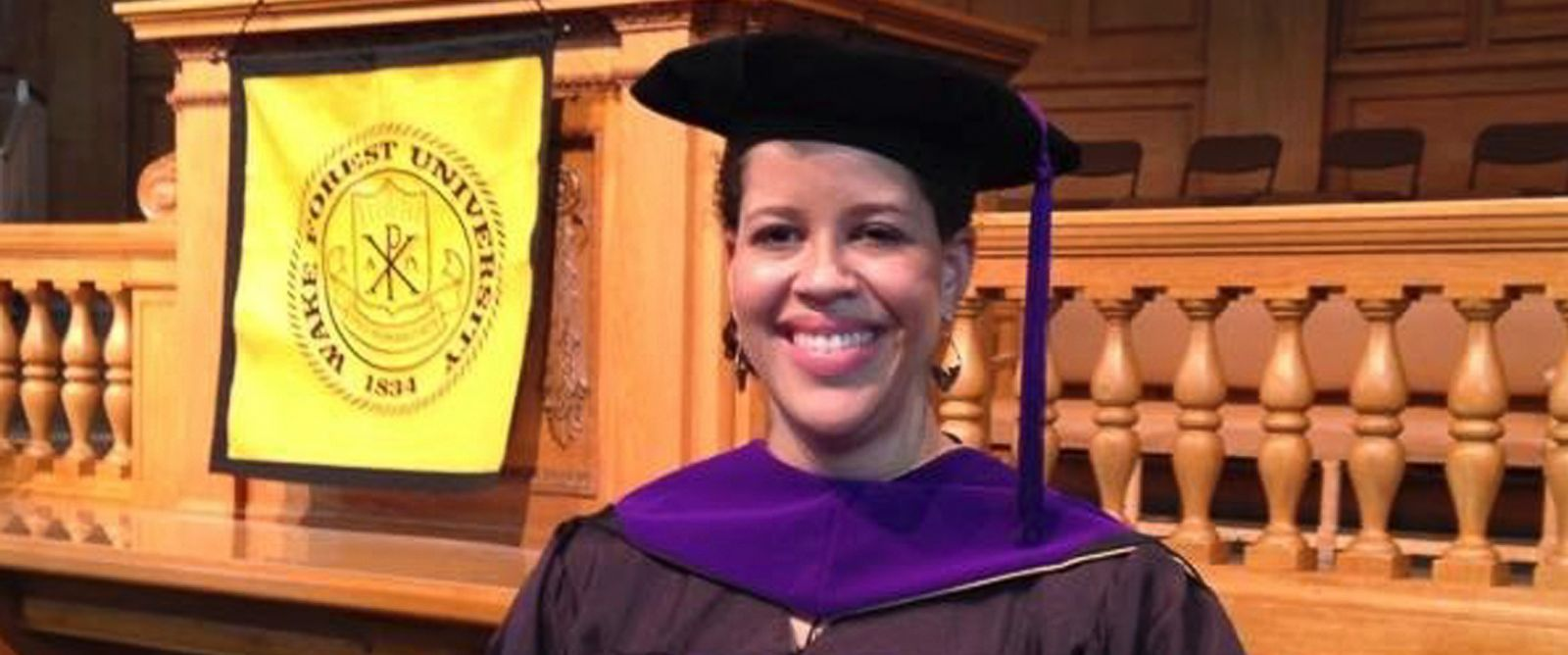 PHOTO: Catherine Booher, who graduated from Wake Forest University School of Law in Winston-Salem, N.C., in May 2014, is shown in this image provided by Mike Booher.