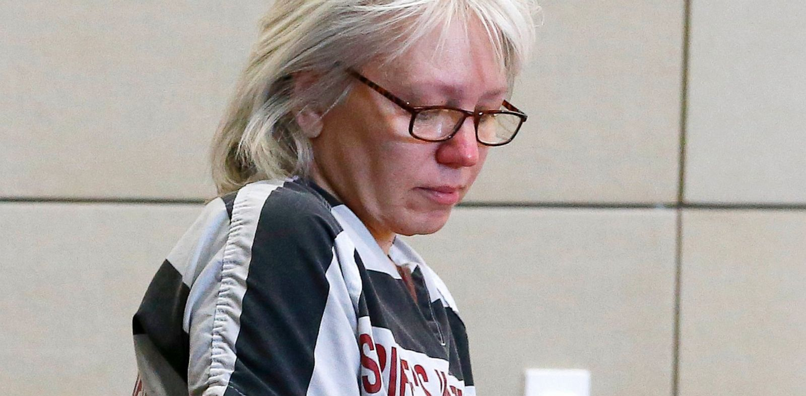 PHOTO: Debra Jean Milke, who spent two decades in jail for the 1989 shooting death of her 4-year-old son, is seen in this file photo at Maricopa County Superior Court in Phoenix, Aug. 1, 2013.