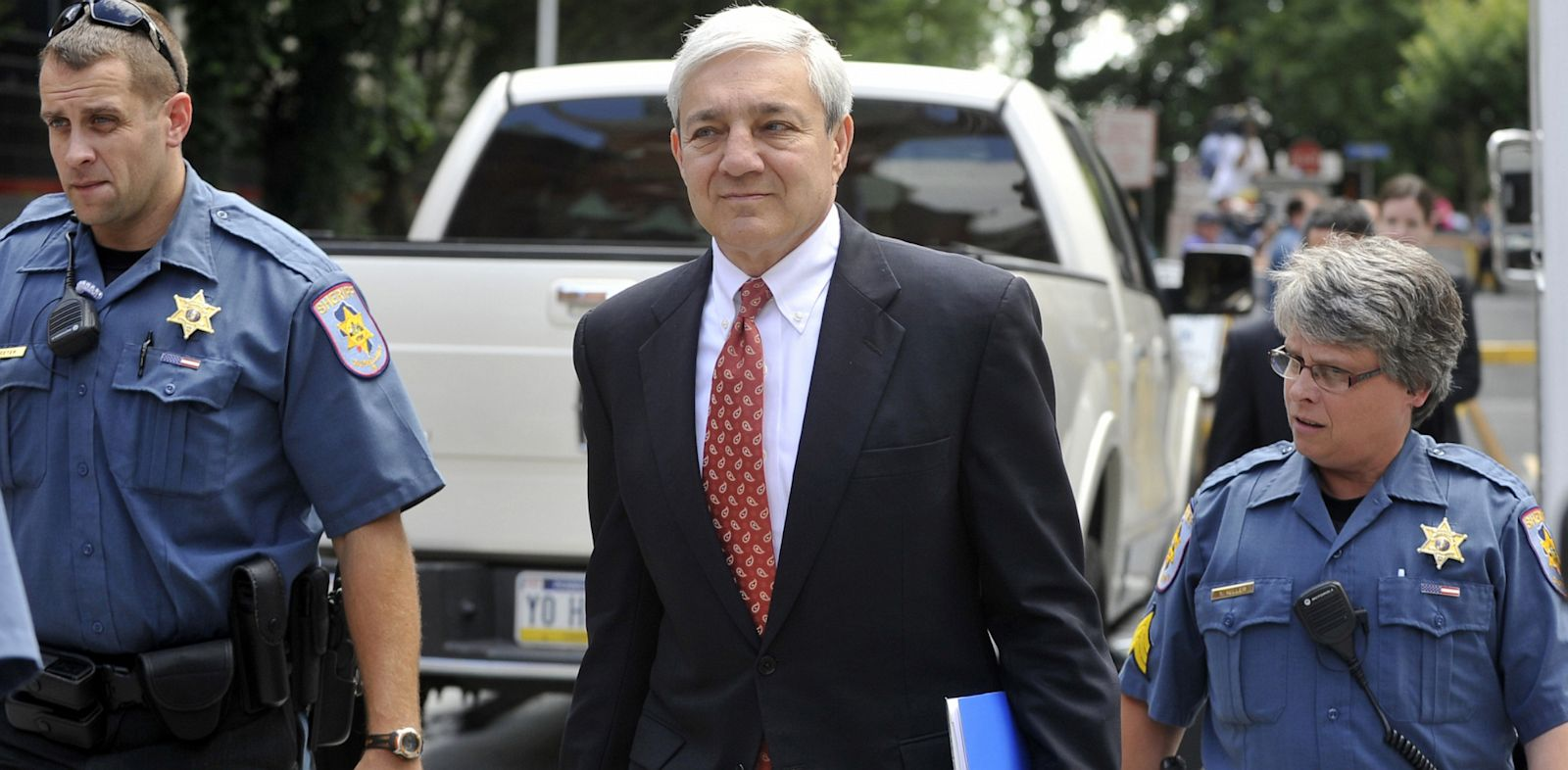 PHOTO: Former Penn State president Graham Spanier