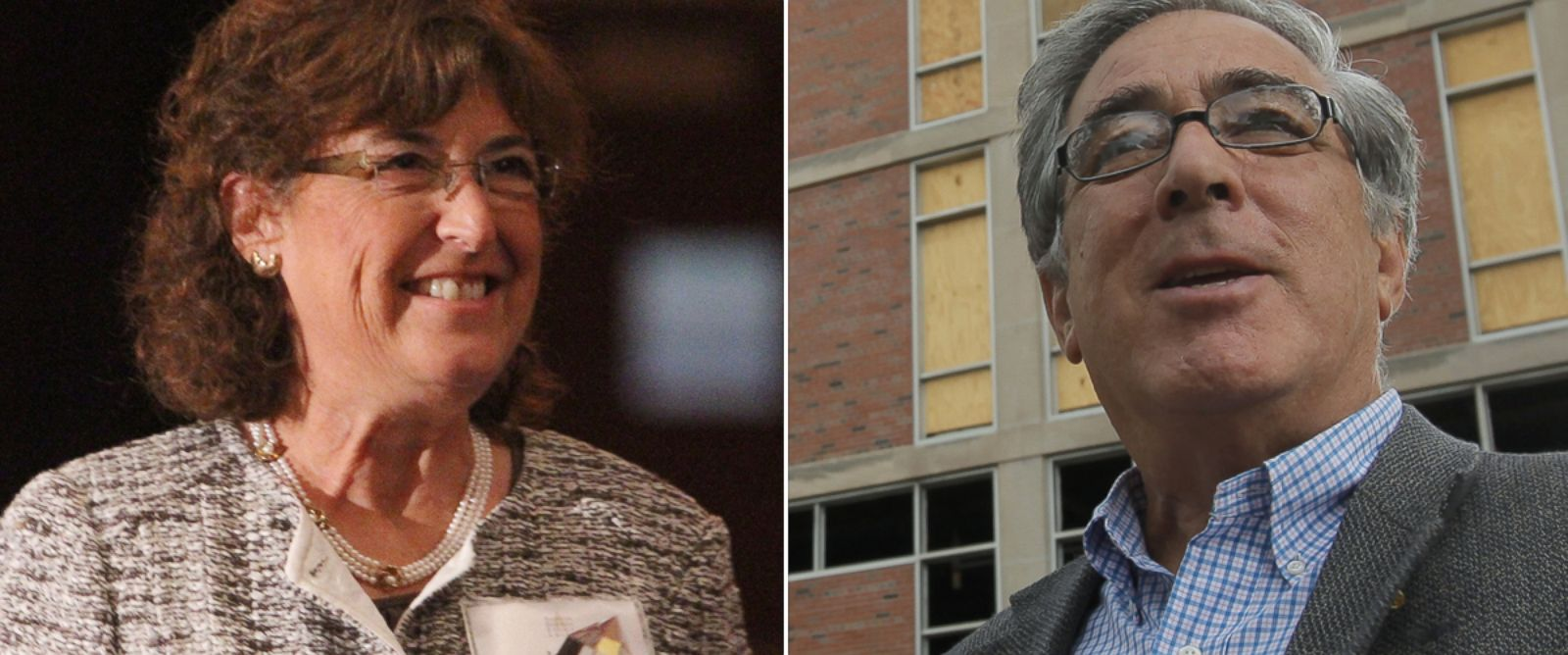 PHOTO: From left, Jane Glazer and Larry Glazer in Rochester, New York