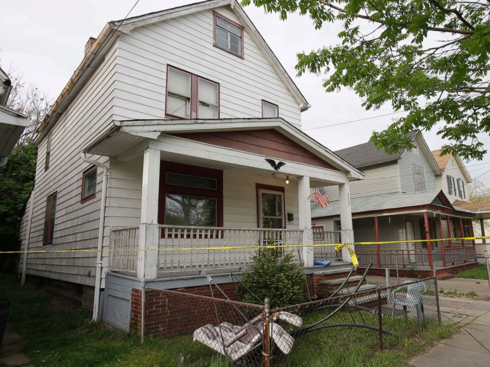 PHOTO: A house where three women escaped is shown, May 7, 2013, in Cleveland.