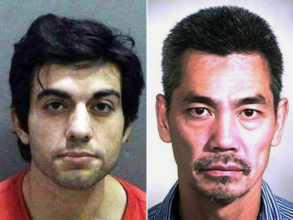 PHOTO: Hossein Nayeri, left, and Bac Duong, two of three inmates who escaped Friday, Jan. 22, 2016, from the countys Central Mens Jail in Santa Ana, Calif.