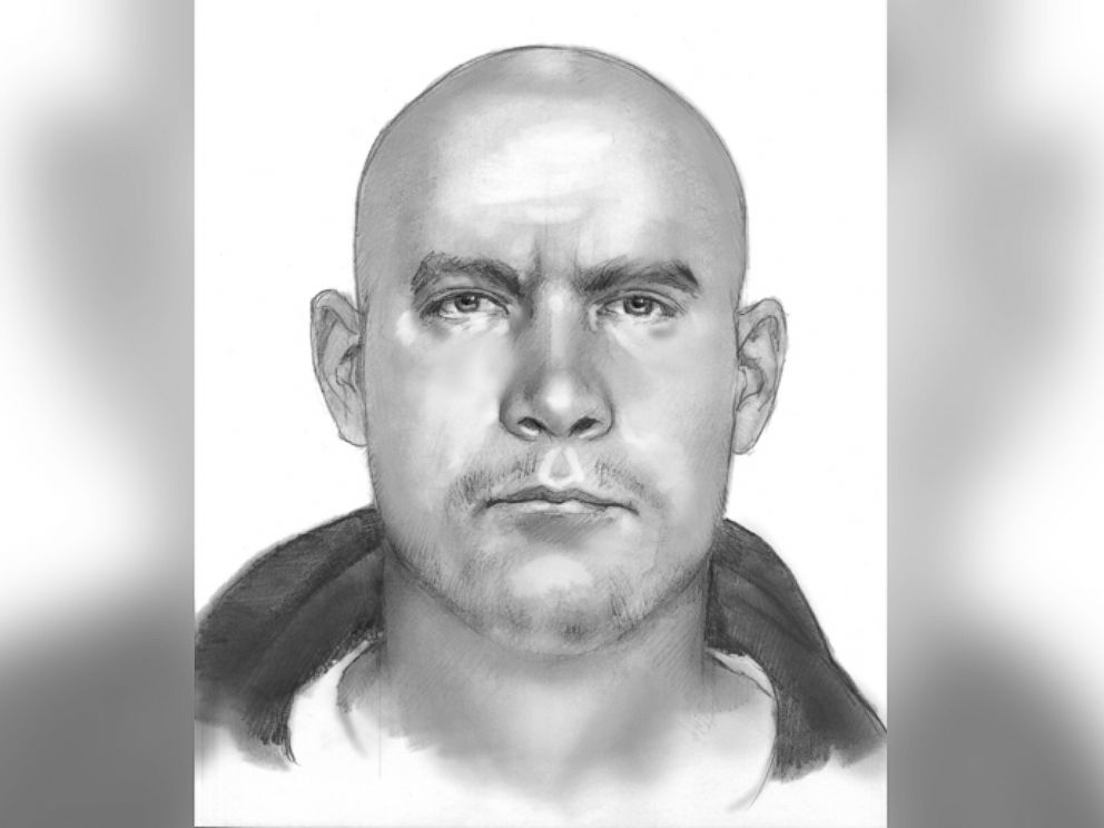 PHOTO: This sketch shows the man police are looking for in the shooting of meteorologist Patrick Crawford at a remote Central Texas television station, Dec. 18, 2014, in Bruceville-Eddy, Texas.