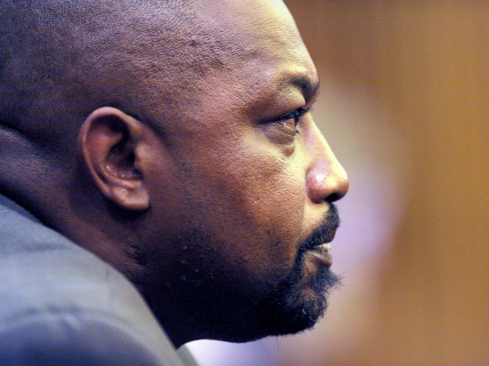 PHOTO: Walter Ray Simmons, Renisha McBrides father, listens during testimony of Theodore Wafers trial, July 28, 2014, Detroit.