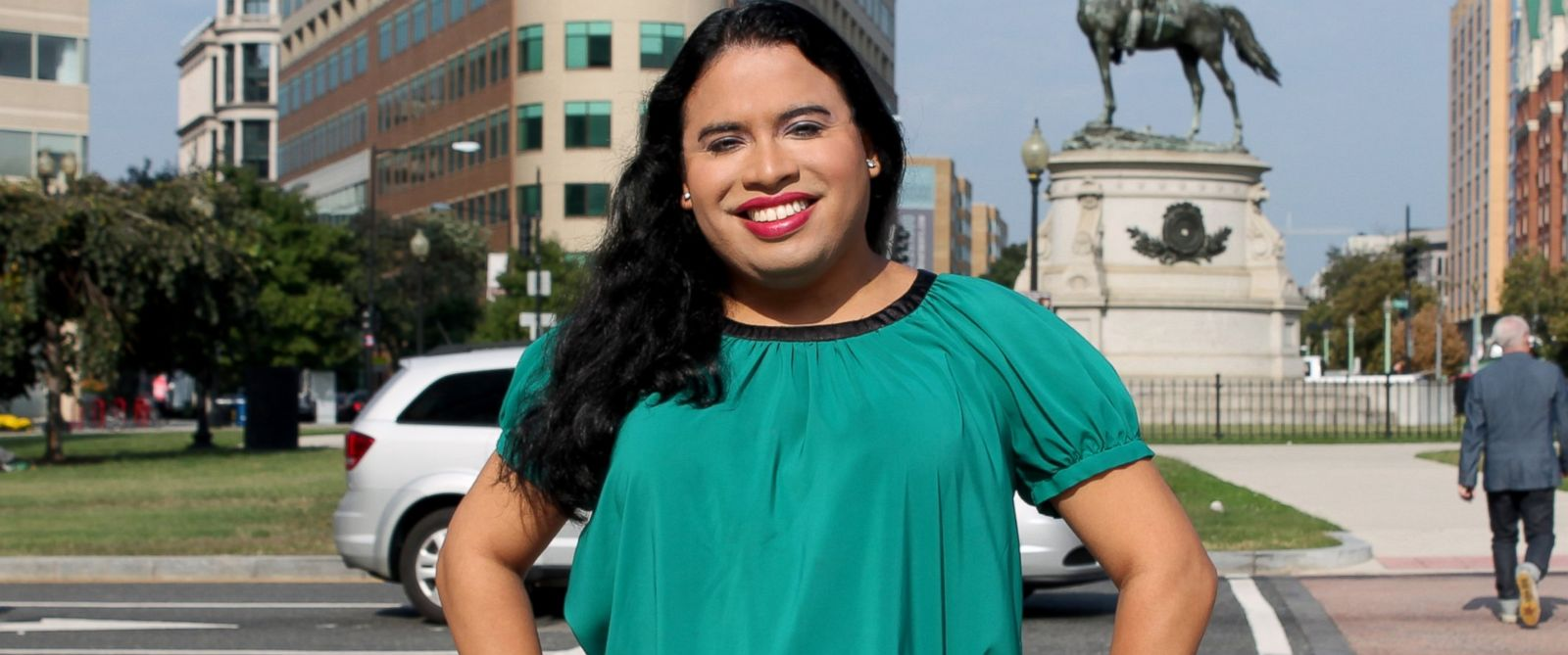 PHOTO: This handout photo provided by the National Center for Transgender Equality (NCTE) shows Raffi Freedman-Gurspan in Washington.