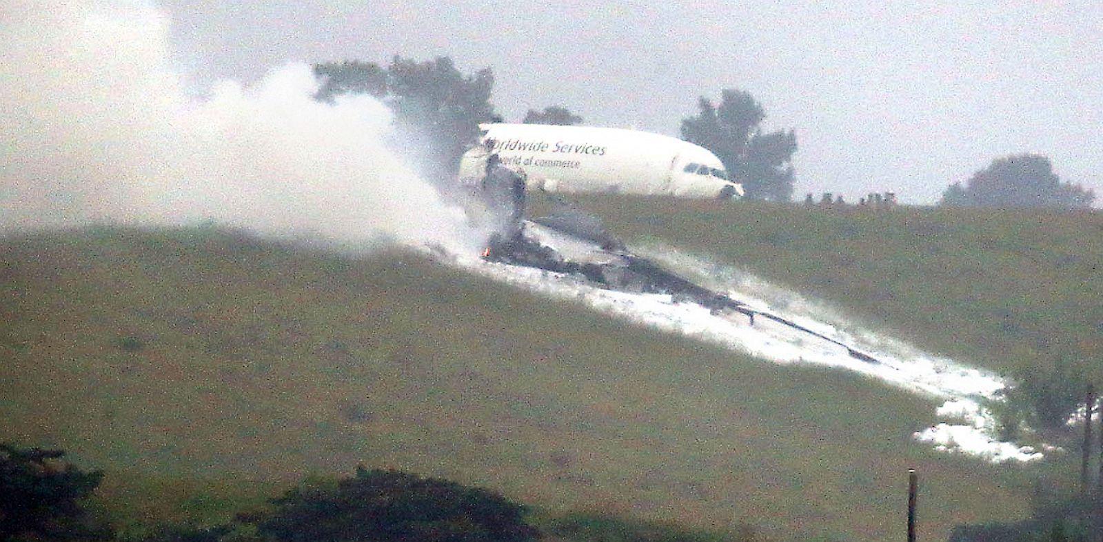 PHOTO: UPS cargo plane crash