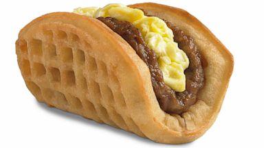 PHOTO: new waffle taco.