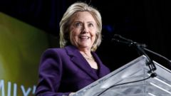 "PHOTO: Hillary Clinton speaks after receiving the ""We Are EMILY"" award at the EMILYs List 30th Anniversary Gala at Hilton Washington Hotel on March 3, 2015 in Washington, DC."