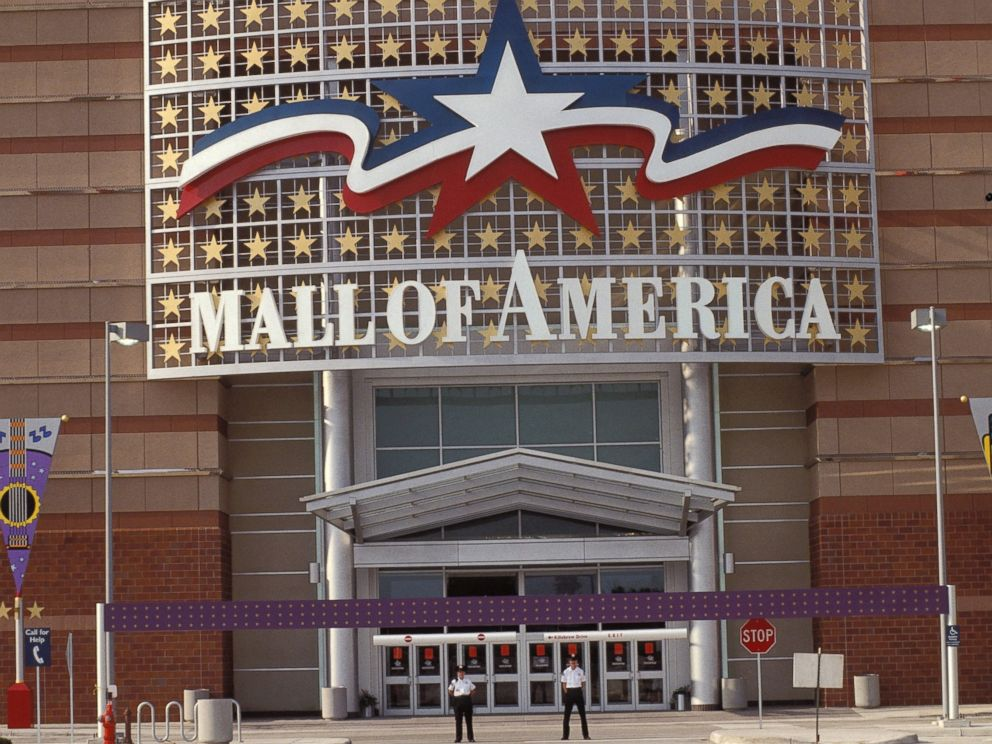 PHOTO: One of the main entrances to the mall, Mall of America, in Minneapolis in Aug. 1992.