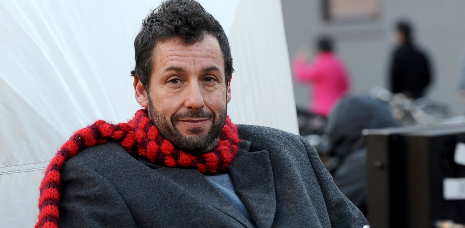 PHOTO: Adam Sandler on the set of