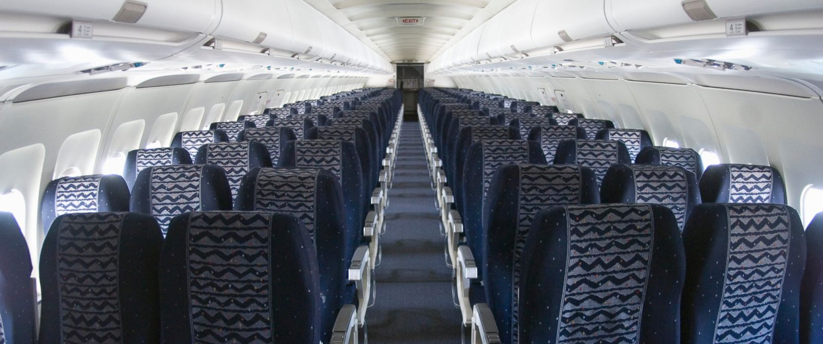 PHOTO: Empty seats are seen inside of an airplane in this undated stock photo.