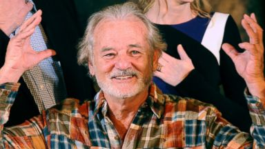 "PHOTO: Actor Bill Murray attends a photo call for ""The Monuments Men"" at Four Seasons Hotel Los Angeles at Beverly Hills on Jan. 16, 2014 in Beverly Hills, Calif."