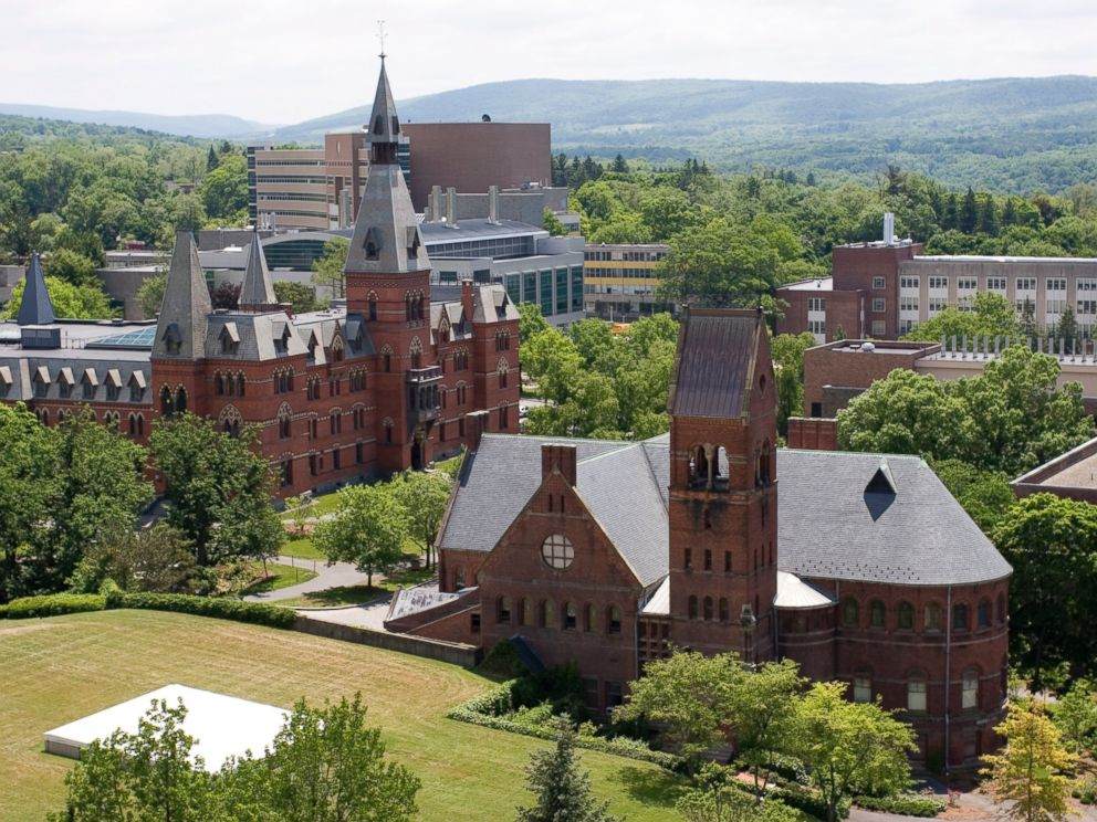 PHOTO: Cornell University campus is pictured here in this undated file photo.