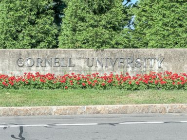 PHOTO: The entrance to Cornell University in Ithaca, N.Y. is seen in this undated stock photo.