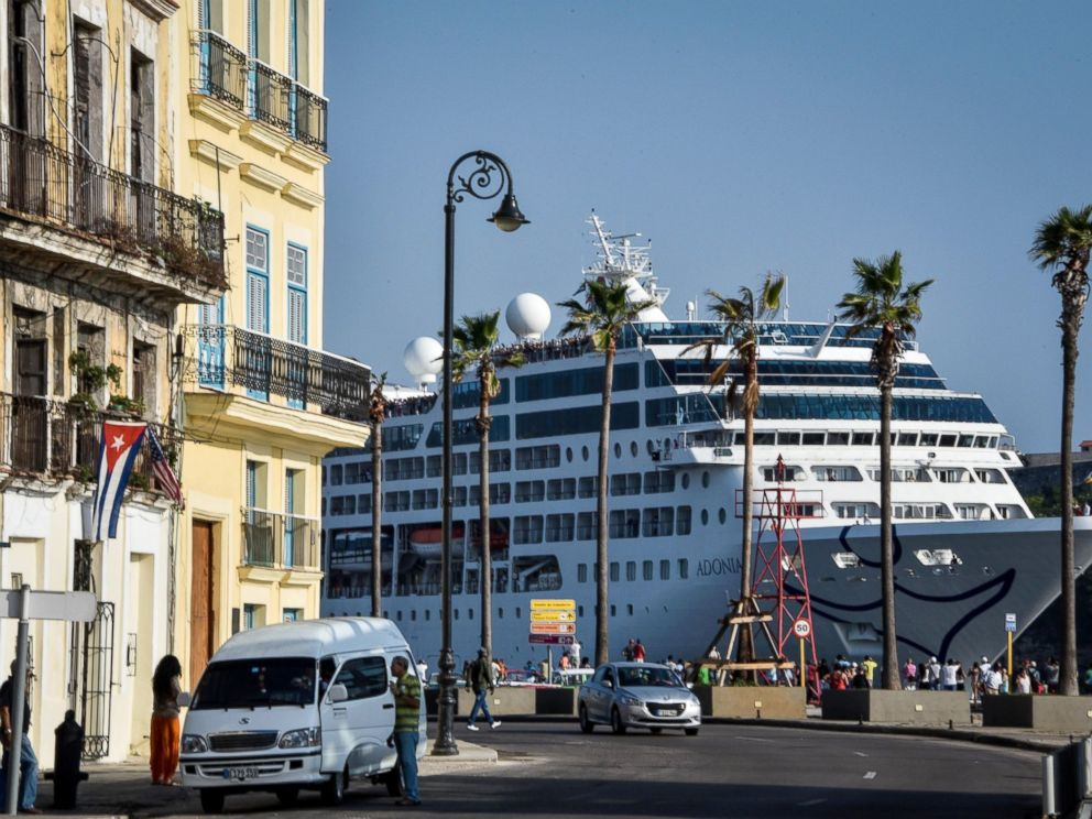 US Cruise Ship Docks In Cuba For 1st Time In Nearly 40