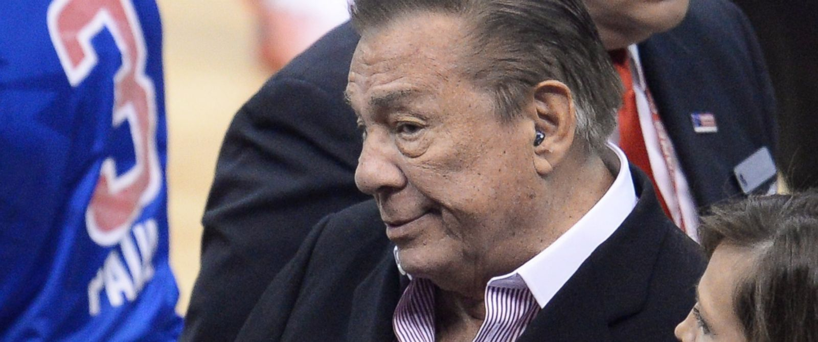 PHOTO: Los Angeles Clippers owner Donald Sterling