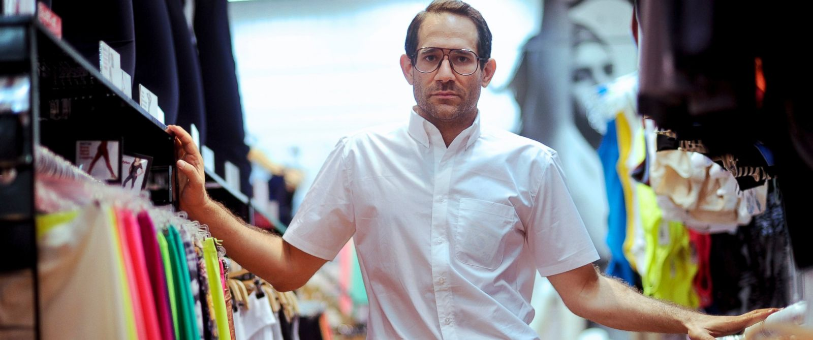 PHOTO: Dov Charney, chairman and chief executive officer of American Apparel Inc., stands for a portrait in a company retail store in New York, July 29, 2010.