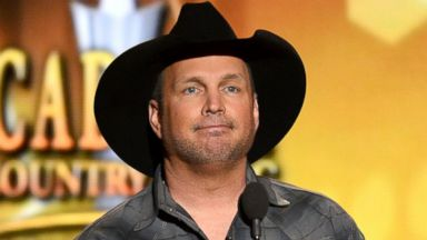 PHOTO: Garth Brooks onstage during the 49th Annual Academy Of Country Music Awards, April 6, 2014, in Las Vegas.