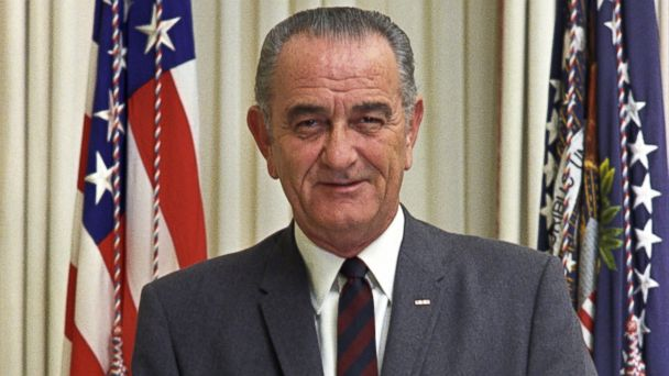 PHOTO: Lyndon B. Johnson served as the 36th President of the United States from 1963 to 1969.