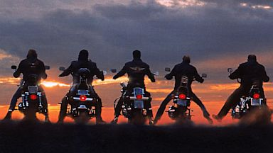 Bikers are shown in this file photo.