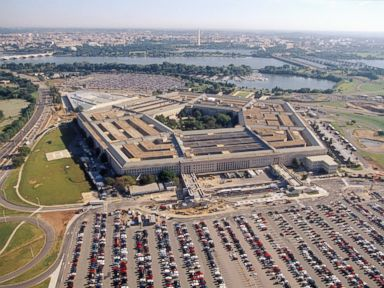PHOTO: An aerial view of The Pentagon in Washington.