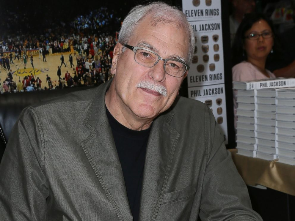 PHOTO: Phil Jackson attends a signing for his book Eleven Rings: The Soul of Success, June 1, 2013, in Hawthorne, Calif.