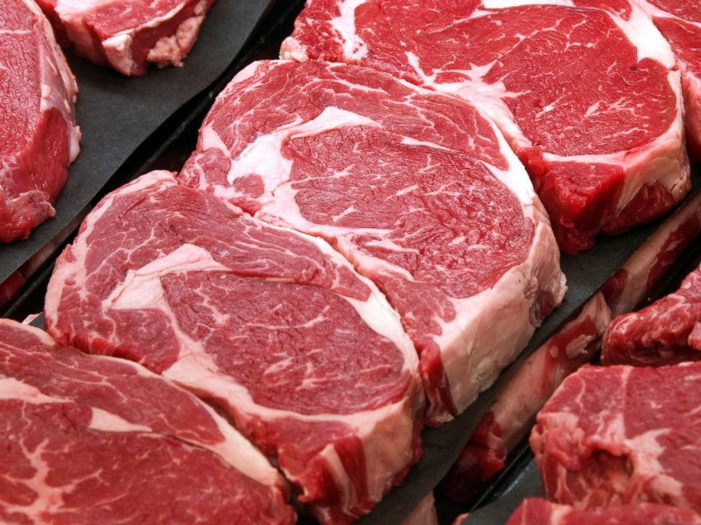 PHOTO: Look for marbling, or lines of fat that run throughout the meat, for a guaranteed great piece of steak.