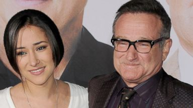 "PHOTO: Robin Williams and Zelda Williams arrive at ""Old Dogs"" World Premiere at the El Capitan Theater in this Nov. 9, 2009, file photo in Hollywood, Calif."