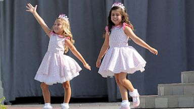 PHOTO: rosie mcclelland, sophia grace brownlee