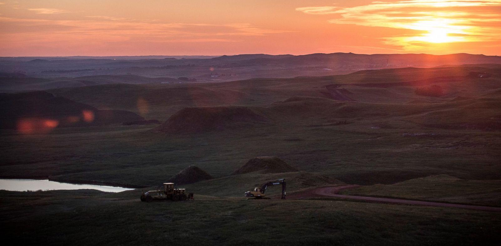PHOTO: The North Dakotan landscape is seen outside Watford City, North Dakota, July 23, 2013.