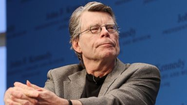 PHOTO: Stephen King reads from his new fiction novel at The John F. Kennedy Presidential Library and Museum on Nov. 7, 2011 in Boston.