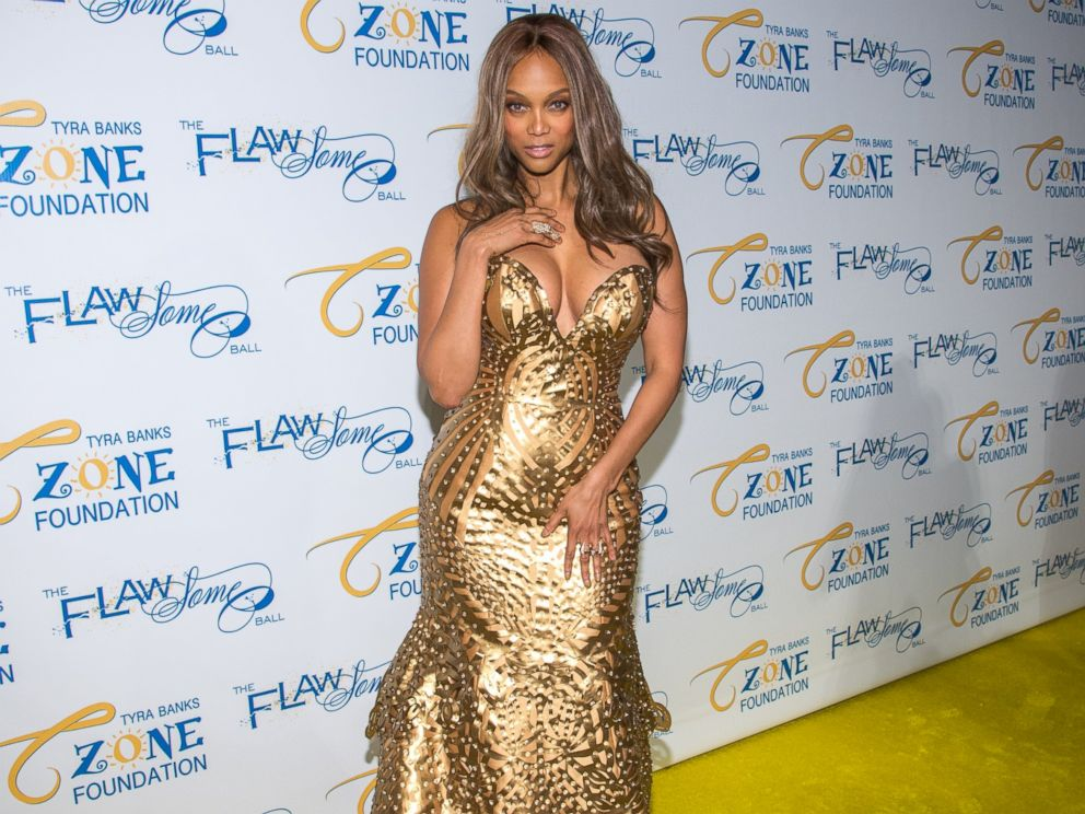 Tyra Banks, another model who cant stand the word plus-size. Seen here on May 6, 2014 in New York.