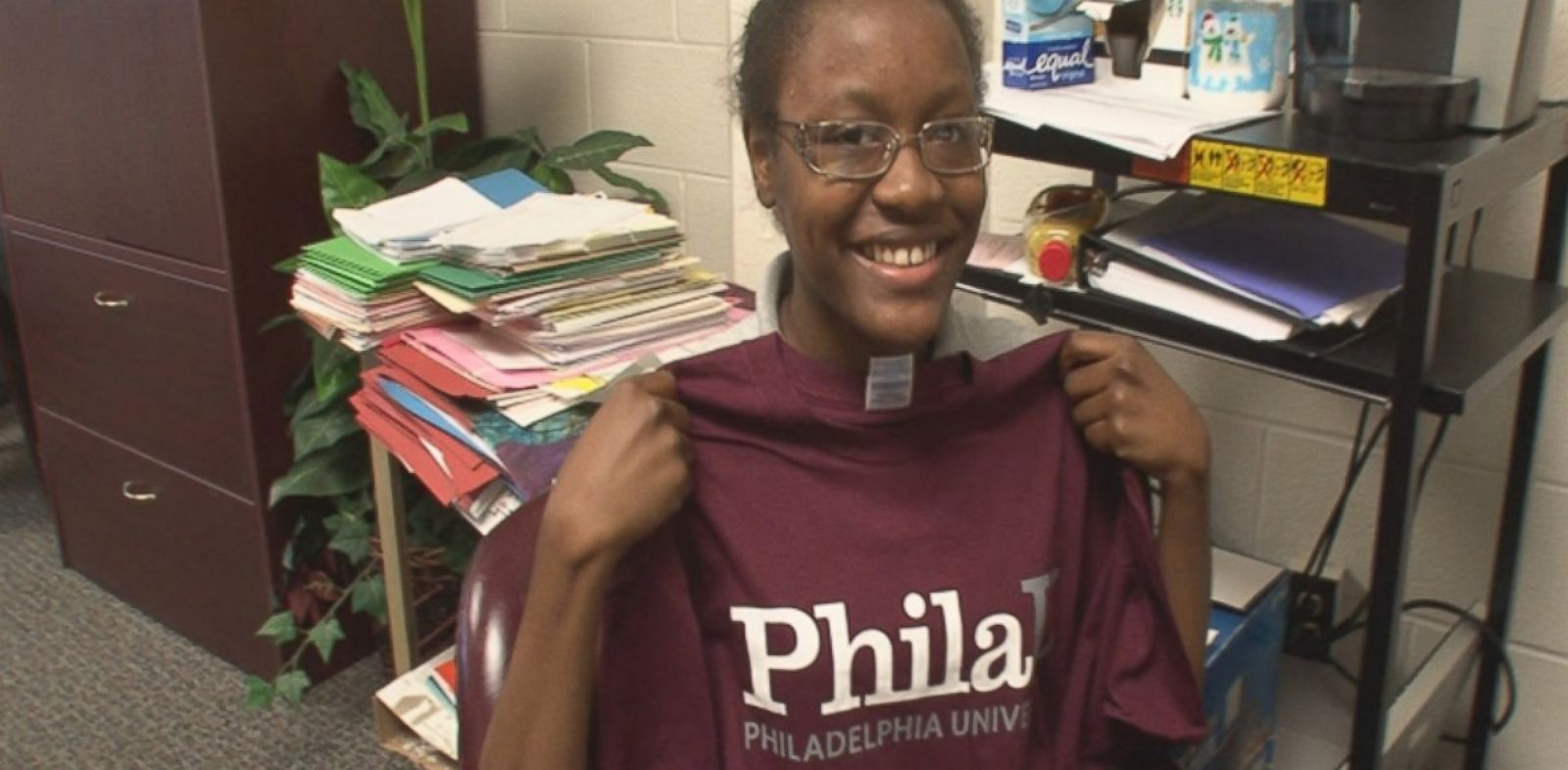 PHOTO: ABC News revisits the students and former students of Strawberry Mansion High School in Philadelphia, including Christine Holland who got a full ride to college.
