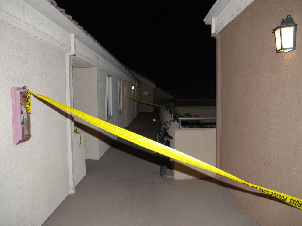 PHOTO: Sam Herrs apartment where Daniel Wozniak told police he killed Julie Kibuishi is pictured here.