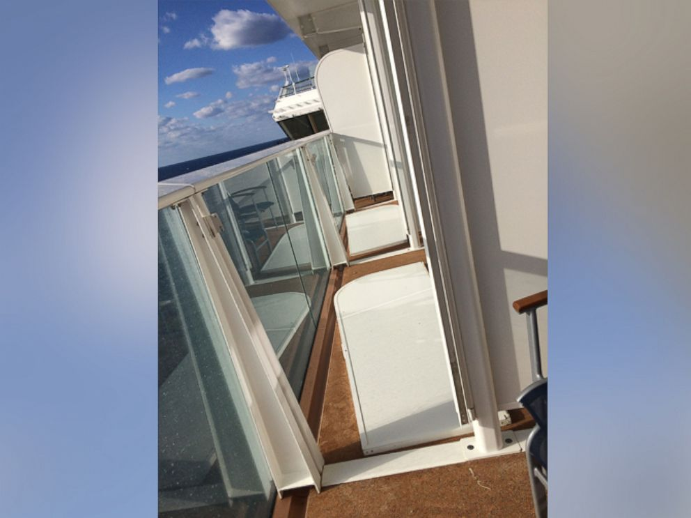 PHOTO:Jessica Sheridan was a passenger aboard Royal Caribbeans Anthem of the Seas when the cruise ship was rocked by hurricane-force winds on Feb. 7, 2016.