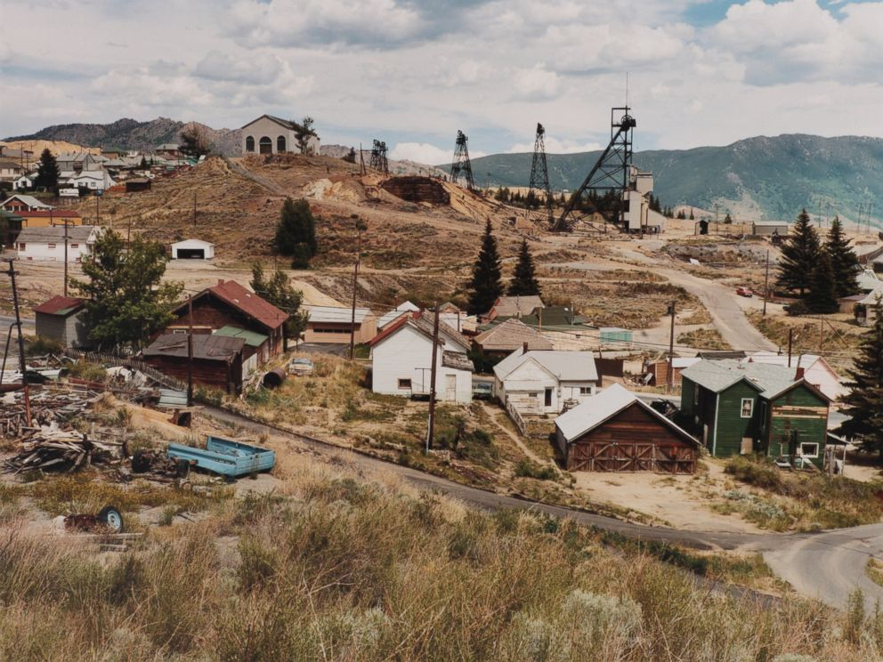 PHOTO: Mt. Con Mine and Centerville, Butte, Montana, 1985.