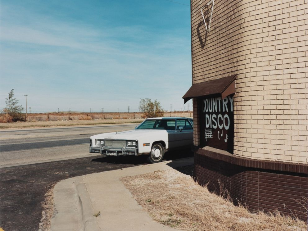 PHOTO: Ft. Worth-Dallas Club, next to the Pantex nuclear weapons plant, Carson County, Texas, 1985.