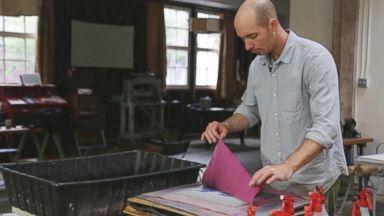 PHOTO: Drew Cameron is seen in his studio in San Francisco.