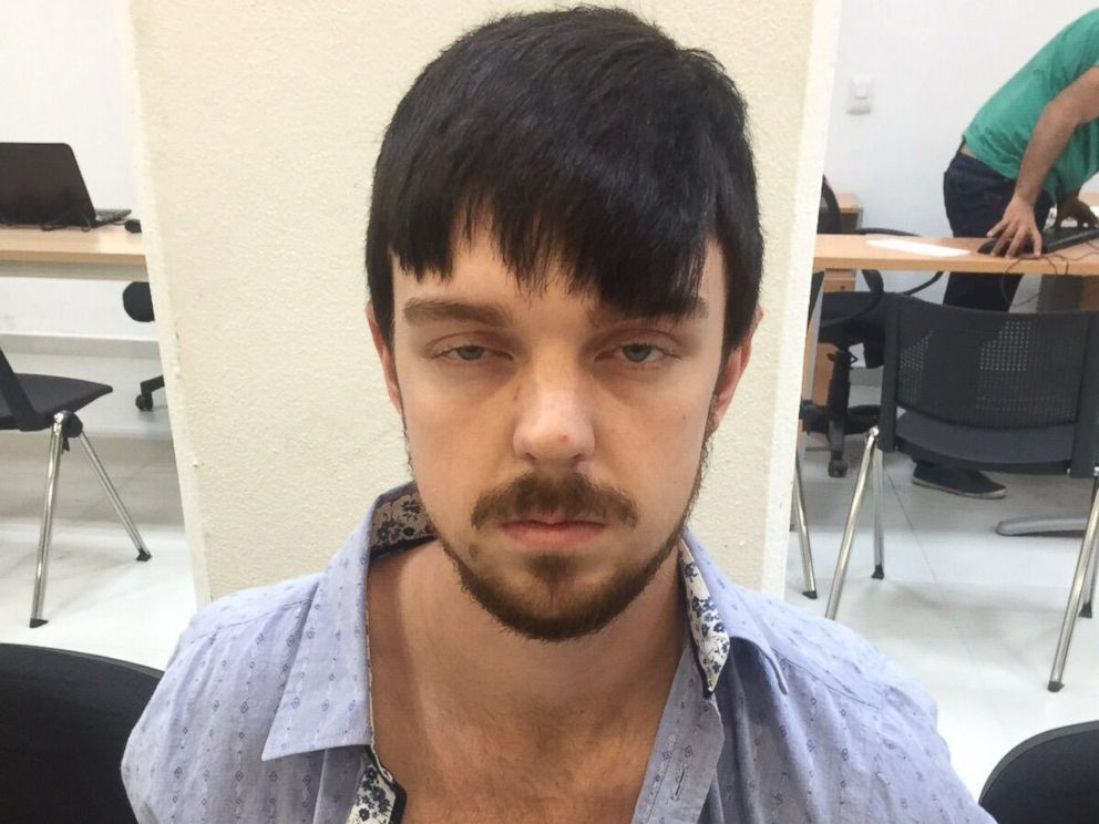 PHOTO: This photograph released by the Jalisco State Prosecutors Office shows Ethan Couch, who was detained in Mexico on Dec. 28, 2015. He was convicted in 2013 of four counts of intoxication manslaughter after a drunk driving accident but avoided jail.