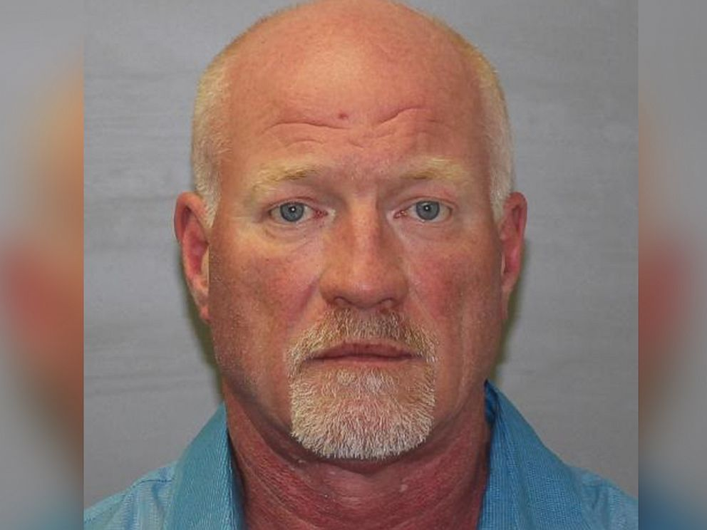 A booking photo of Gene Palmer, 57, an officer at the Clinton Correctional facility in Dannemora, New York, who was arrested on June 24, 2015, in connection with the escape of two convicted murderers who have evaded capture for weeks.