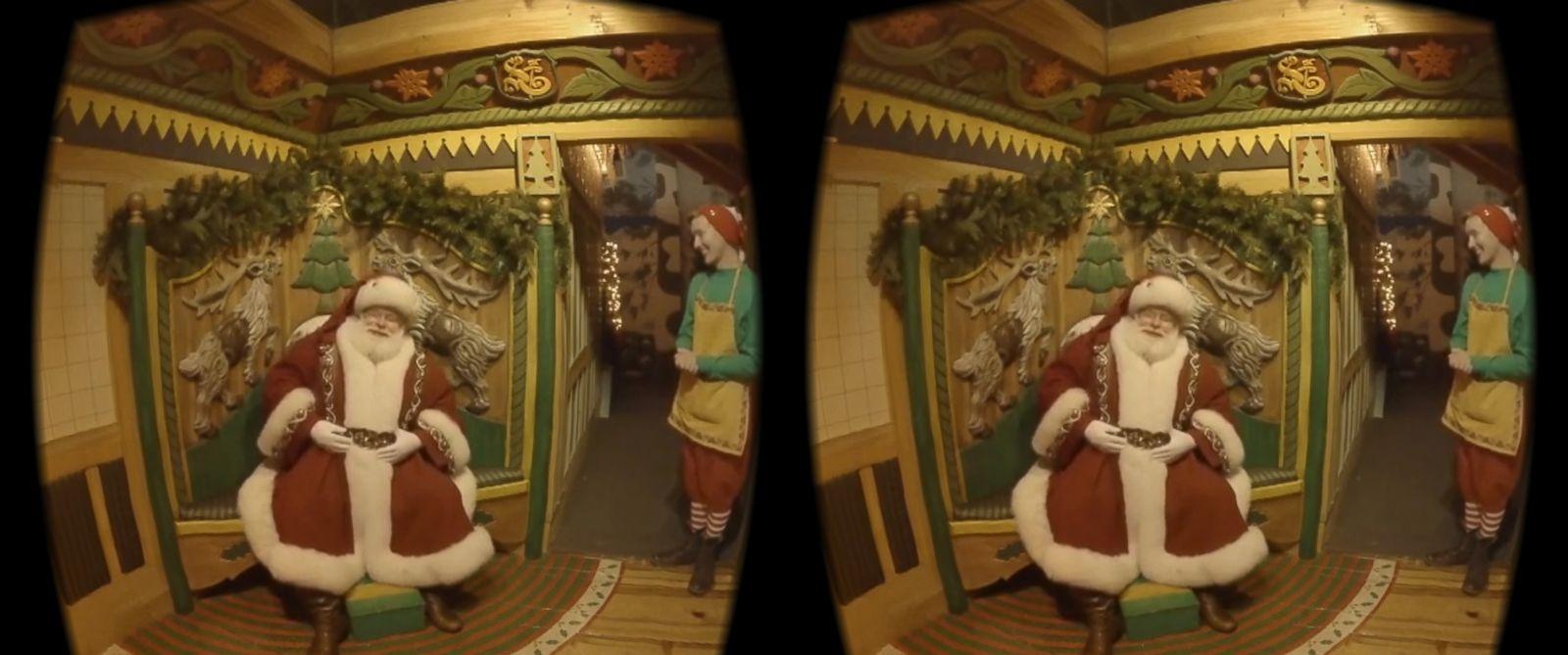 PHOTO:Santa Claus in Macys Santaland is seen on Dec. 4, 2015 in New York.
