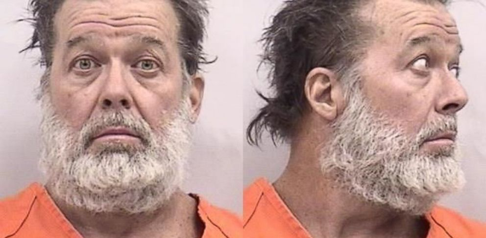 PHOTO: A booking photo of Robert Dear, 57, whom Colorado Springs police identified as the suspect in a shooting at a Planned Parenthood clinic that left three people dead on Nov. 27, 2015.
