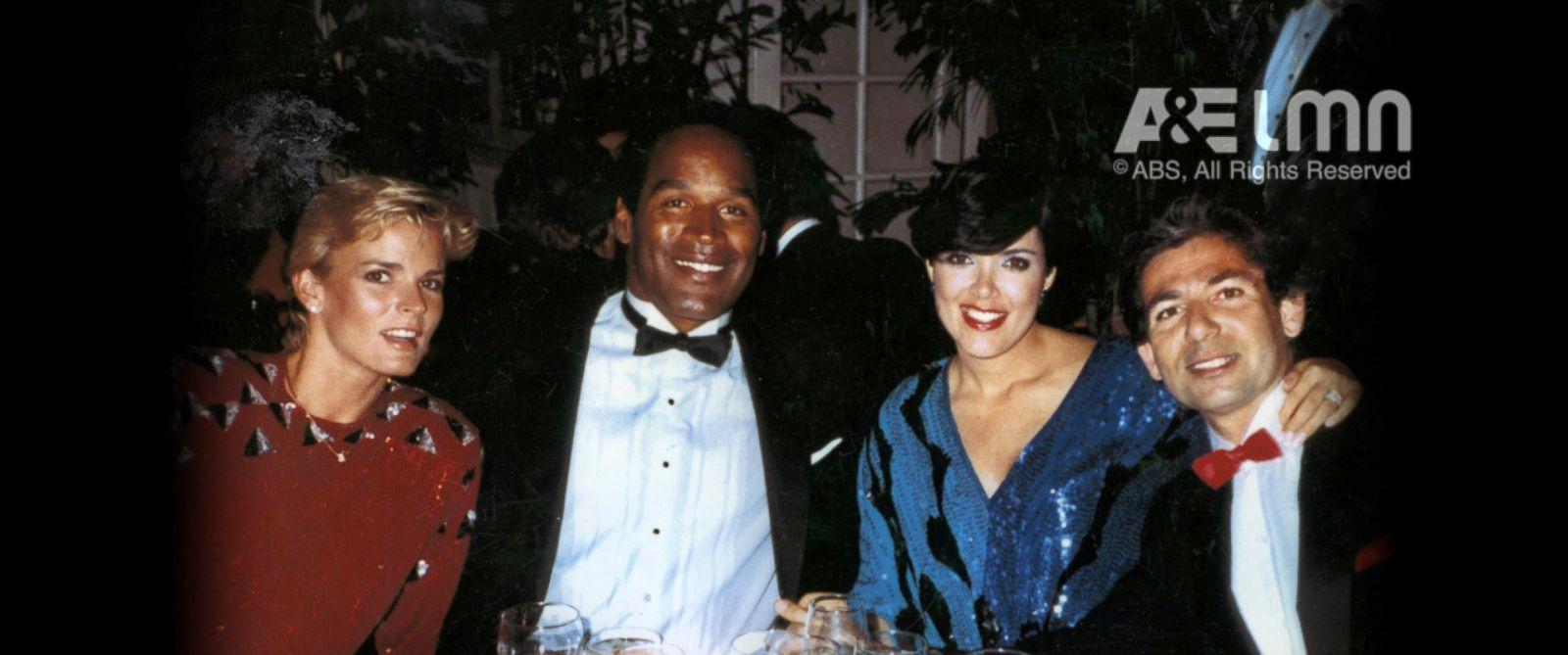 PHOTO: Nicole Brown Simpson, O.J. Simpson, Kris Jenner (then married to Robert Kardashian) and Robert Kardashian are pictured together in this undated photo.