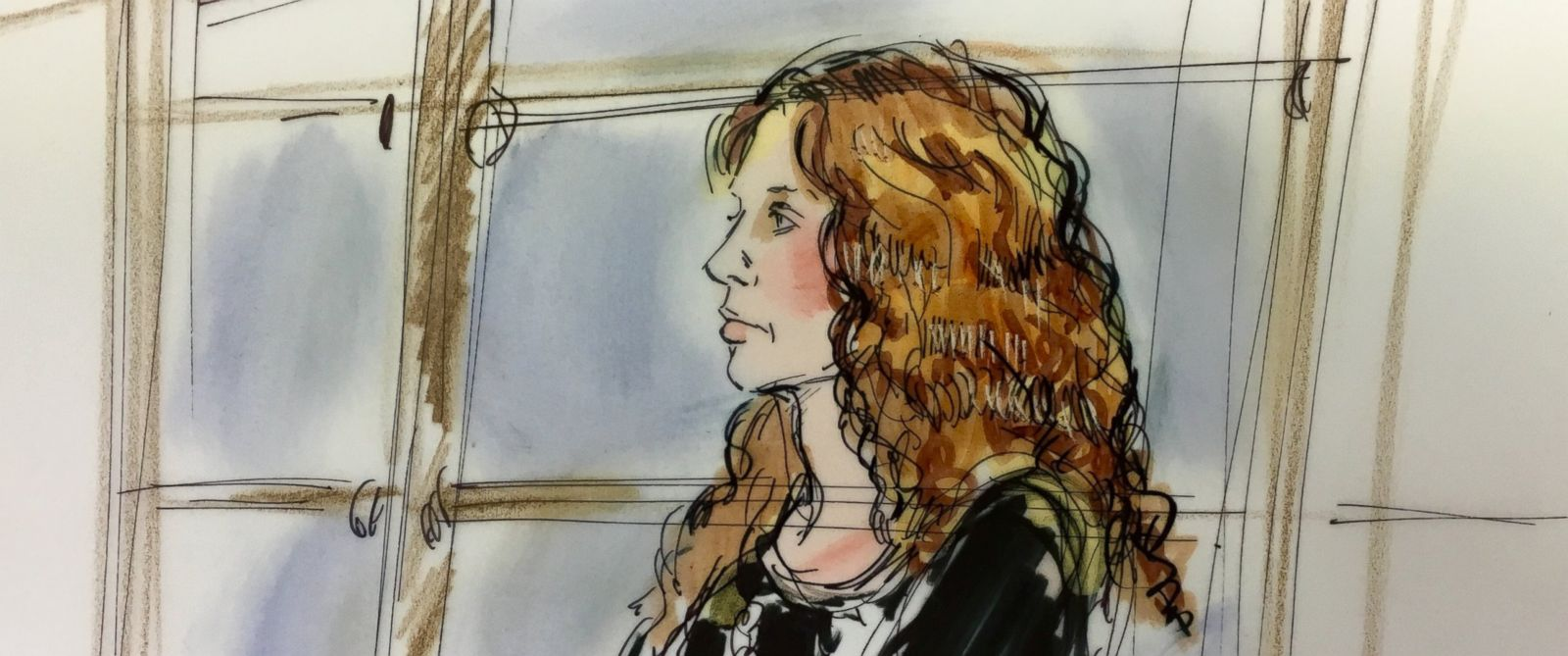 PHOTO: Court sketches show Tonya Couch during an appearance at her extradition hearing in Los Angeles on Jan. 5, 2016.