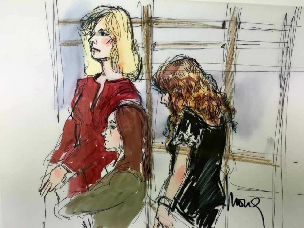 PHOTO: Court sketches show Tonya Couch during an appearance at her extradition hearing in Los Angeles on Jan. 5, 2016