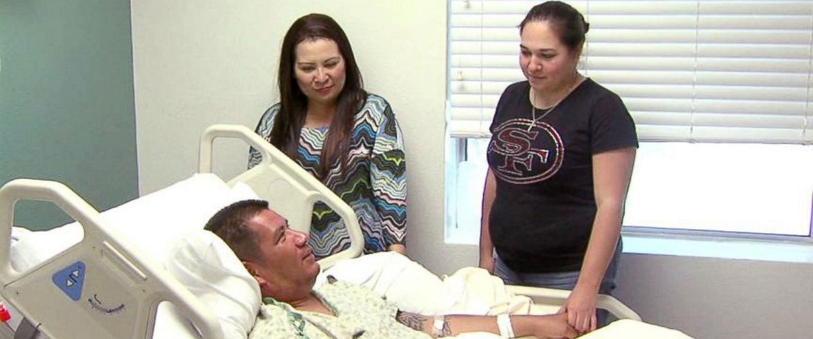 PHOTO: Joey Trevino is recovering after spending 30 hours adrift in the Gulf of Mexico.