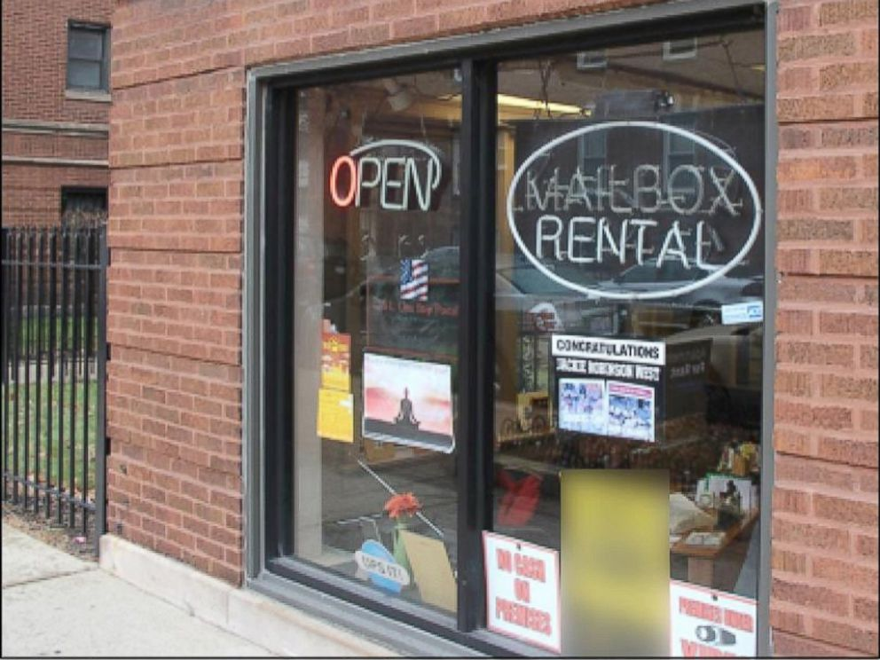 PHOTO: One healthcare provider listed this Mailbox rental store as a medical practice location in Chicago, IL. They had been paid approximately $592,000 by Medicare since December 2013.