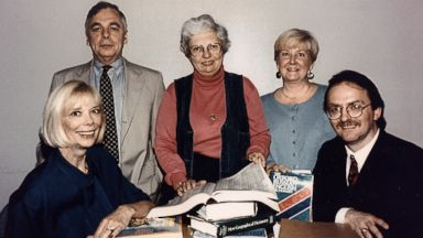 PHOTO: Left to right, Sandy Grimes, Paul Redmond, Jeanne Vertefeuille, Diana Worthen and Dan Payne
